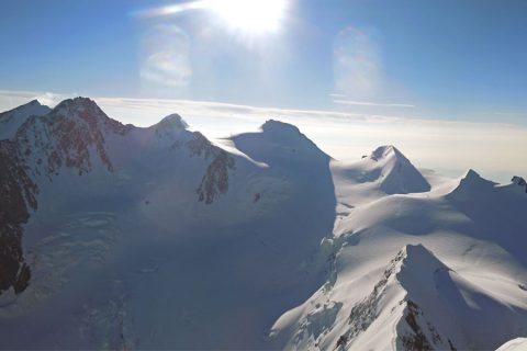 Winter mountaineering in the European Alps: technical level 2