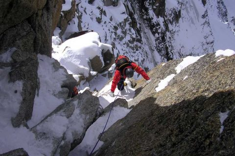 Mountaineering: Technical level 5