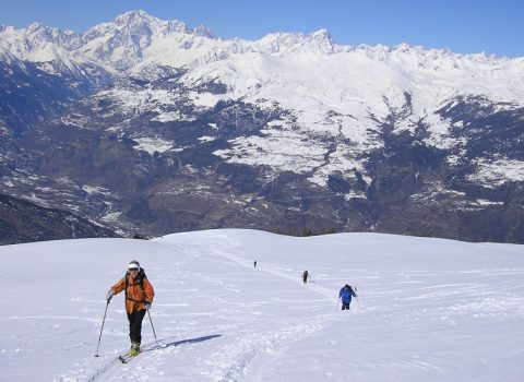 Ski mountaineering: technical level 3