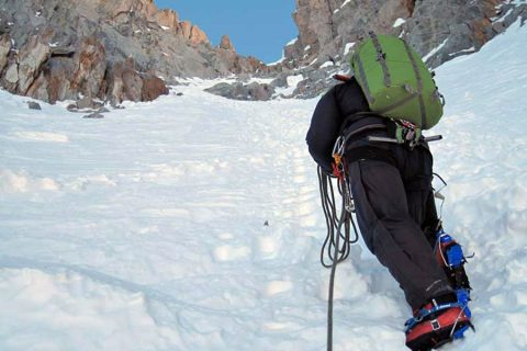 Mountaineering: Technical level 4