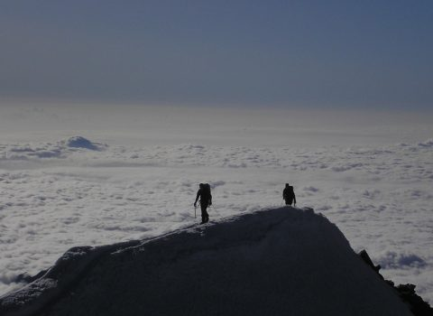 Mountaineering in the European Alps: Technical level 4