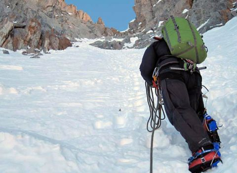 Mountaineering in the European Alps: Technical level 5